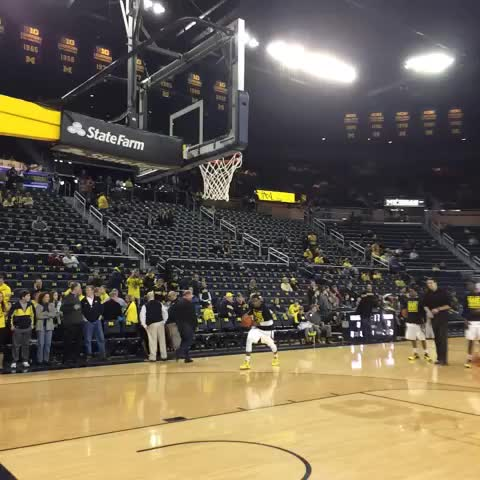Show off. - Michigan Basketballs post on Vine