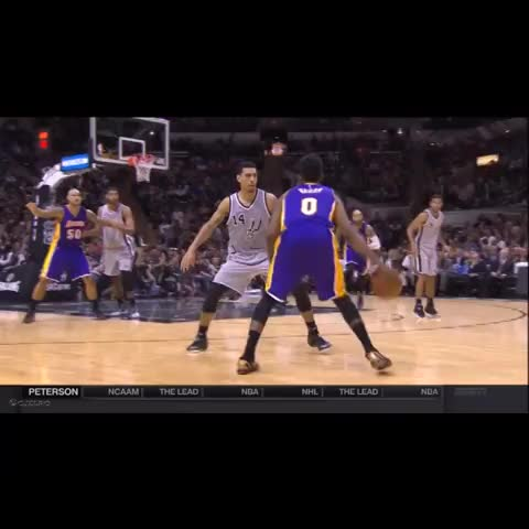 Vine by cjzero - Swaggy Puts Danny Green In A Blender and Kobes Reaction