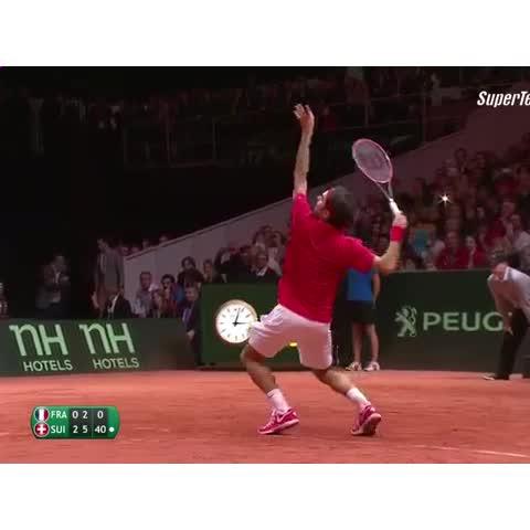テニス☆Videos post on Vine - #tennis #Daviscup #Federer - Tennis☆Videos post on Vine