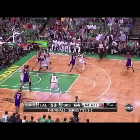 Vine by Only The NBA - Kobe hits a DEEP 3, Dwyane Wades reaction is priceless.