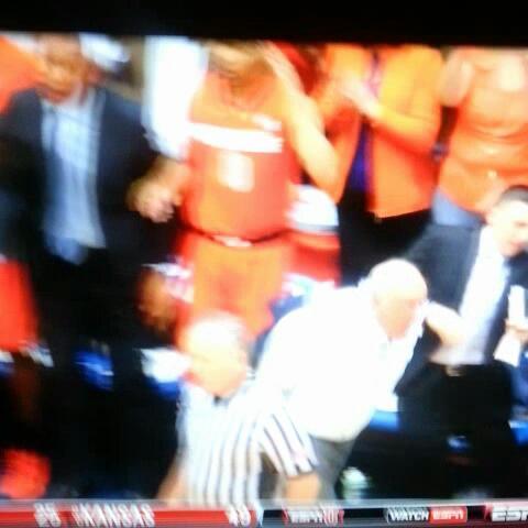 Vine by adam mcginnis - Jim Boeheim loses it,  gets tossed, ball game #cuse  #duke