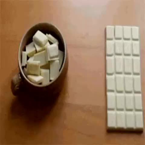 #Howto have infinite chocolate. - Mindblowing Illusionss post on Vine