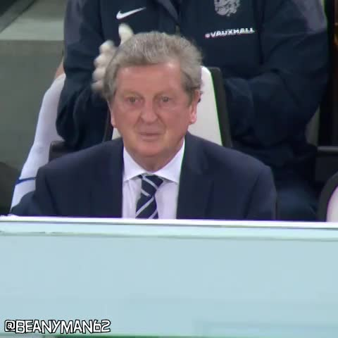 Vine by Beanyman62 - Roy Hodgson gets colonoscopy on the bench during England/Italy match?
