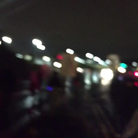 Protestors marching up W Florissant. Shutting town traffic. #Ferguson - Chris Jamess post on Vine