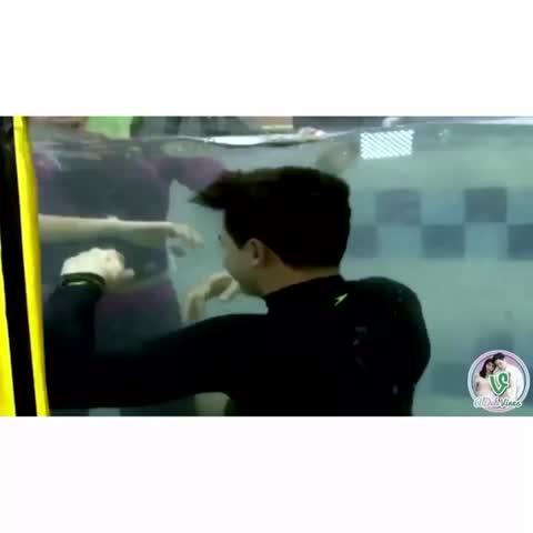 Vine by ALDUB Vines HD - Challenge Accepted (Dive-oke) 09/24/16. Hay. Kahit underwater umaapaw sa chemistry. My MaiChard heart is full. 😭❤️ #ALDUBAdvocatesOfLove