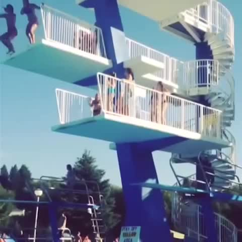 FAIL ZONEs post on Vine - High Dive Fail! - FAIL ZONEs post on Vine