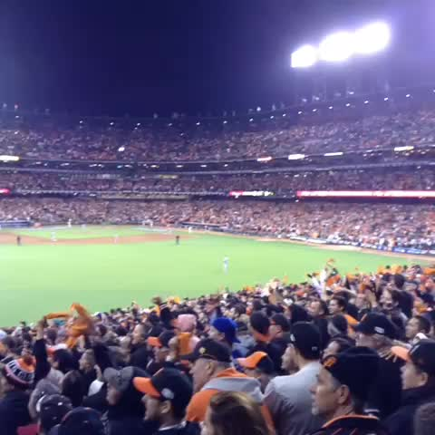 Dont stop believing!! #OctoberTogether #SFGiants - CafeSFGs post on Vine