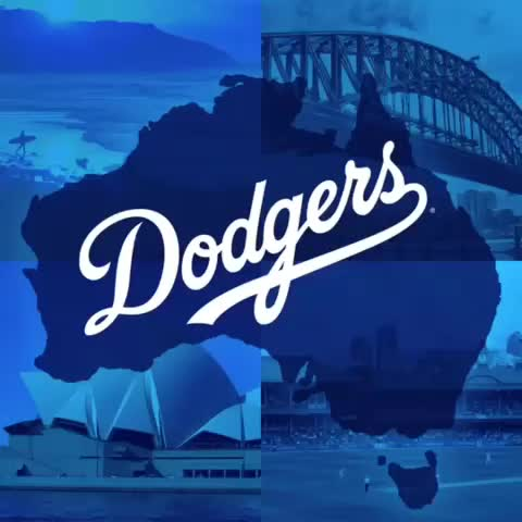 Dodgerss post on Vine - Countdown to Sydney! #OpeningSeries - Dodgerss post on Vine