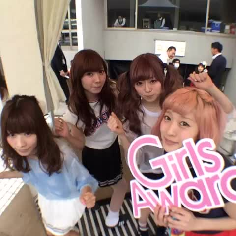 GirlsAwards post on Vine - GirlsAward 2014 S/S バックステージ #ガルアワ #Vine360 Silent Siren @staffsaisai - GirlsAwards post on Vine