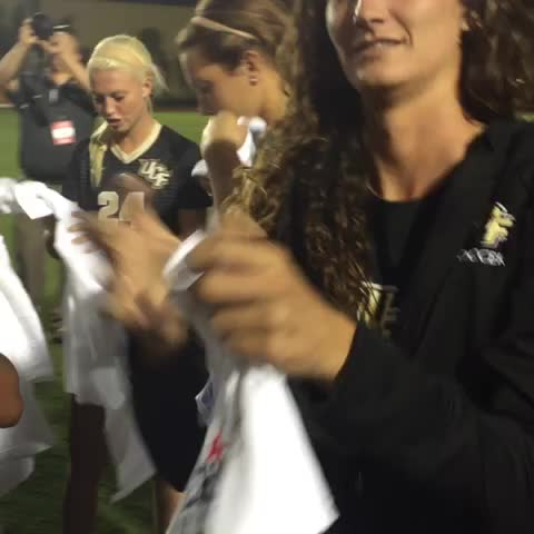 BACK-TO-BACK! Thats how @UCF_WSoccer rolls! #ChargeOn - UCF Knightss post on Vine