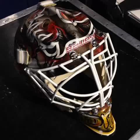 Calgary Flamess post on Vine - Joni Ortio gets the start tonight in #yeg but he & McDonald will split the game #CGYatEDM - Calgary Flamess post on Vine