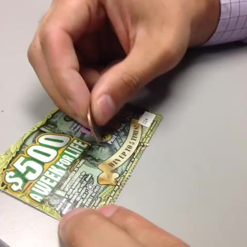 Win big by playing scratch-offs?