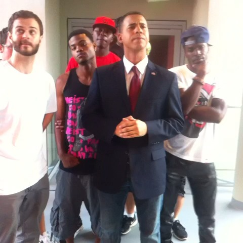 Barack Obama - Look at Us. Eric Dunn, Curtis Lepore, KingBach, Austin Miles Geter - Alphacats post on Vine