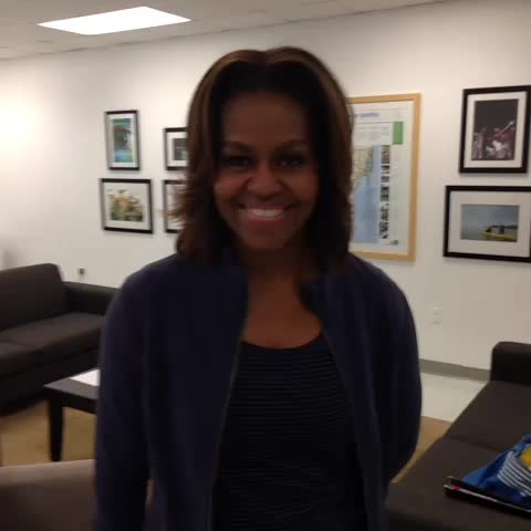Vine by The White House - Show us your moves using #LetsMove and The First Lady might give you a shout out!