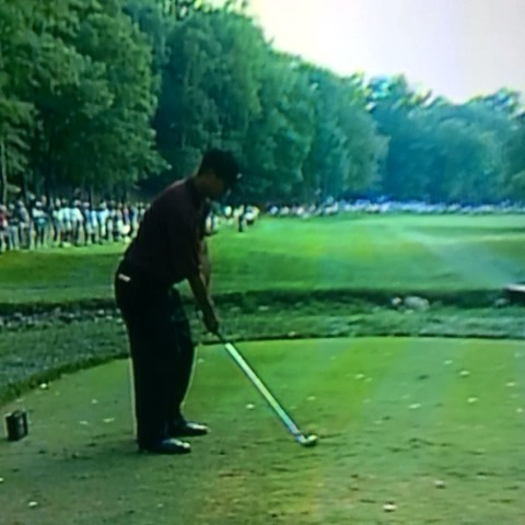 No Laying Ups post on Vine - Vine by No Laying Up - Tigers premature tee grab in 2000 was something to behold. Its basically part of his follow through. #TourSauce