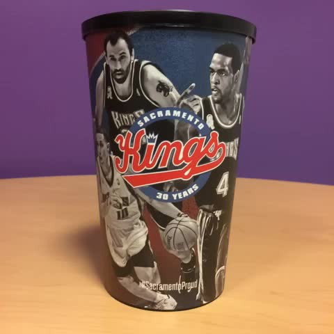 Sacramento Kingss post on Vine - Exclusive Legends Night cup available at tonights game! #SacramentoProud - Sacramento Kingss post on Vine