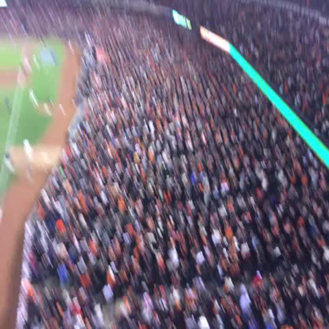San Francisco Giantss post on Vine - AT&T Park is on point.  #SFGiants #OctoberTogether - San Francisco Giantss post on Vine