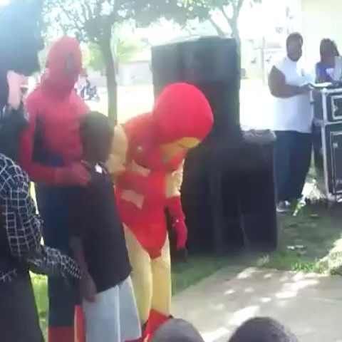 Vine by irham - when your parents are too cheap to get real superheroes for your birthday party