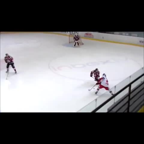 Aivis Plotiņšs post on Vine - Huge hit by HK Rīga defensman Kristaps Zīle vs Salzburg Red Bull. #IceHockey #BigHit #Latvia #Dinamo #HKRiga  Kristaps Zile - Aivis Plotiņšs post on Vine