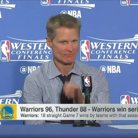 Vine by SportsCenter - Steve Kerr on why Steph Currys toughness continues to be questioned...