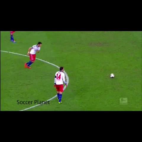Vine by SoccerPlanet - hakan calhanoglu amazing freekick #freekick #soccer #futbol #football #goal #longrange #videoshop