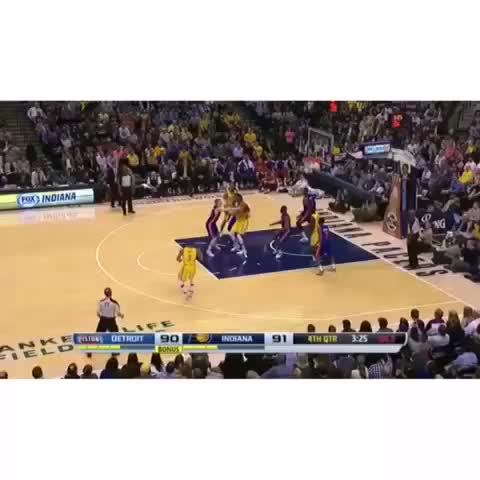 NBA Dunkss post on Vine - Vine by NBA Dunks - You know youre a good shooter when (pt.3) #nbadunks #nba #basketball #sports #PAULGEORGE #PG