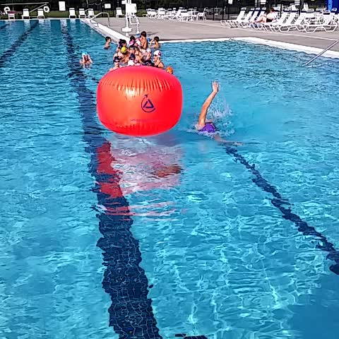 John Fedenas post on Vine - @swimmacc  Dolphin One swimmers learning how 2 swim around a buoy for Open Water! @AndersonSwim Scott Wiltsey - John Fedenas post on Vine