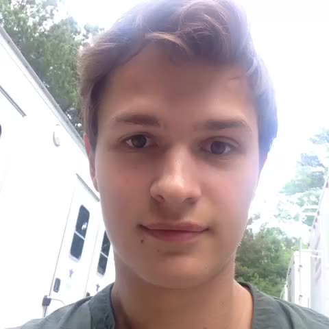Vine by Ansel Elgort - #FBF scaring miles aka Peter on the #insurgent set!!! MARCH 20th were almost at opening night! #Caleb