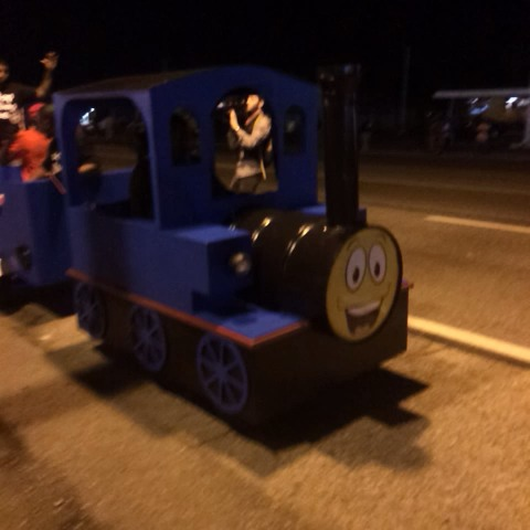 Thomas the Tank Engine is back. - Wesley Lowerys post on Vine