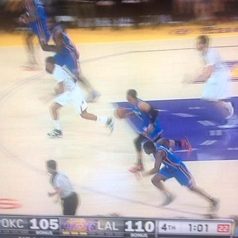 Anthony Slaters post on Vine - Russell Westbrook, my goodness - Anthony Slaters post on Vine