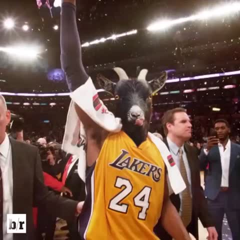 Vine by Bleacher Report - Its your day, 🐐 #KobeBryantDay