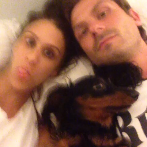 Brittany Furlans post on Vine - Our dogs love us! 😍 W/ Randal Kirk II - Brittany Furlans post on Vine