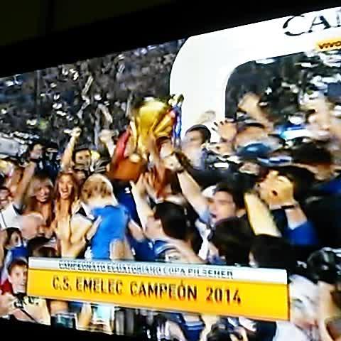 #Emelec campeón de#Ecuador 2014 - Vine by Héctor Pérez Name - #Emelec campeón de#Ecuador 2014