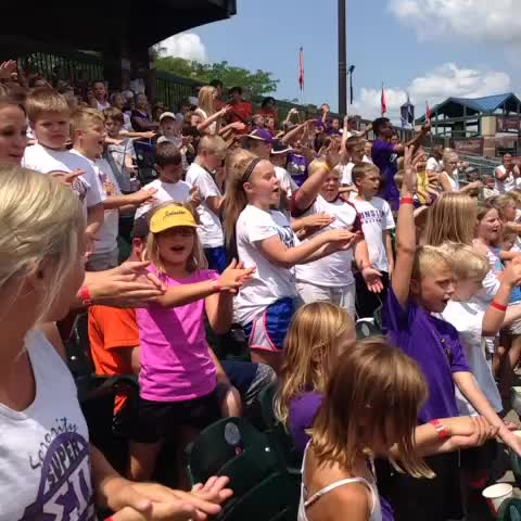 Johnston Dragons. Eat em up. Eat em up. #iahsbb - Iowa Cubss post on Vine