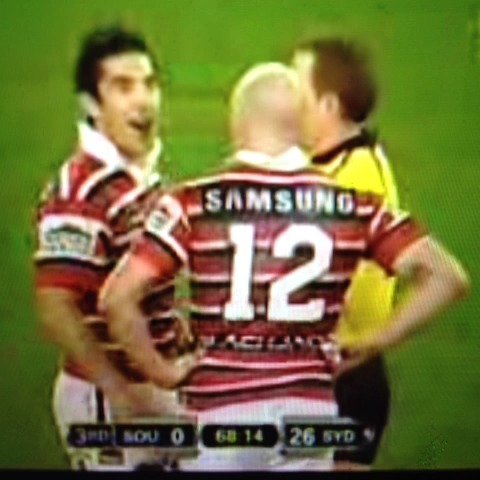 Braith Anasta reacts to David Faalogo escaping suspension #NRL #NRLnewwst - Aaron Thomass post on Vine