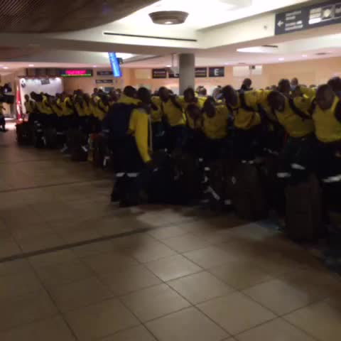 Vine by Julia Wong - Get ready #YMM. These firefighters are coming your way! #YEG