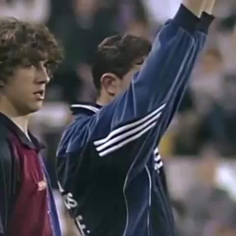 FC Barcelonas post on Vine - #onthisday  15 years ago today, @Carles5puyol made his official debut in a game in Valladolid #VineFCB - FC Barcelonas post on Vine