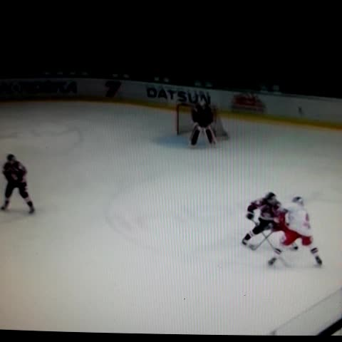 Toms Vitolinss post on Vine - Hk Riga. Latvia.  Defensman Kristaps Zile huge hit on Red bull player. #hockeyhits  #hockey  Hockey Vines #hockeyvines - Toms Vitolinss post on Vine