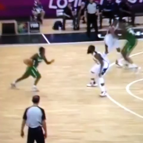 Get Crosseds post on Vine - Nigerian player makes James Harden do the splits! #Skrillex #CrossedUp - Get Crosseds post on Vine