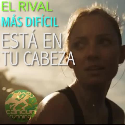 Vine by Cancún Running - El rival más difícil está en tu cabeza #CorrerMeHaEnsenado #cancun #YoElegíCorrer