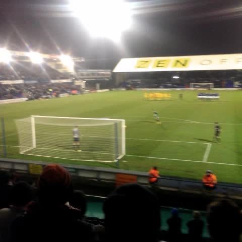 Andrew Daleys post on Vine - #PNE winning penalty against Oldham - Andrew Daleys post on Vine