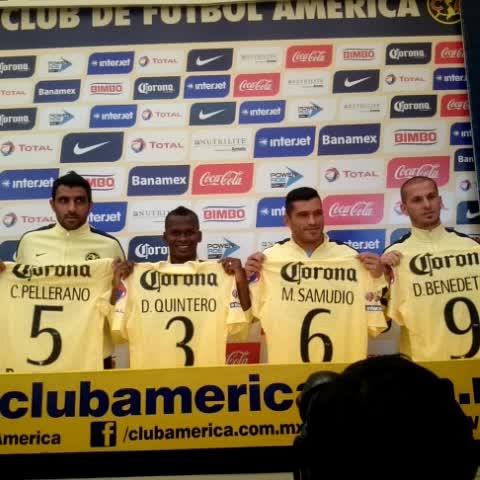 Nuestros refuerzos para el Clausura 2015 #JuntosPorElBicampeonato - Vine by Club América - Nuestros refuerzos para el Clausura 2015 #JuntosPorElBicampeonato