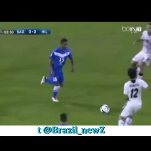 Brazil_NewZ on twitters post on Vine - Rodrigo Tabata Nice panna Vs Nasser Al-Shamrani - #brazil #skill #nutmeg - Brazil_NewZ on twitters post on Vine