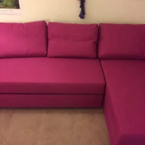Watch Melissa Baxter 39 S Vine Ikea Friheten Hot Pink Sofa Sleeper Turns Into A Bed