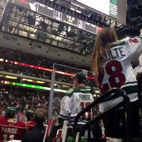 Minnesota Wilds post on Vine - Another for Pommer! #hatty #mnwild - Minnesota Wilds post on Vine