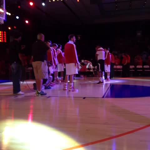 Lets go fellas - Wisconsin Basketballs post on Vine