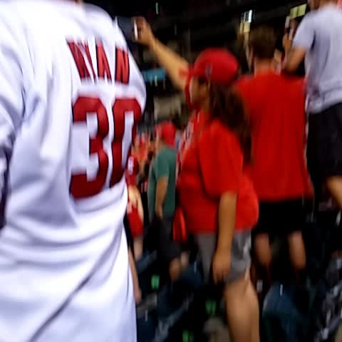 MVP chants for Mike Trout after the #Angels clinched the AL West - SteveGranados post on Vine