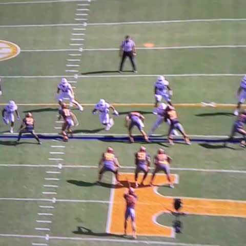 Vine by Pick Six Previews - Backs up to his own 2-yard line, and muffs it. 2 strikes