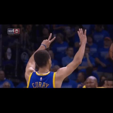 Vine by Ananth Pandian - Steph tells the Thunder fans that there will be a Game 7
