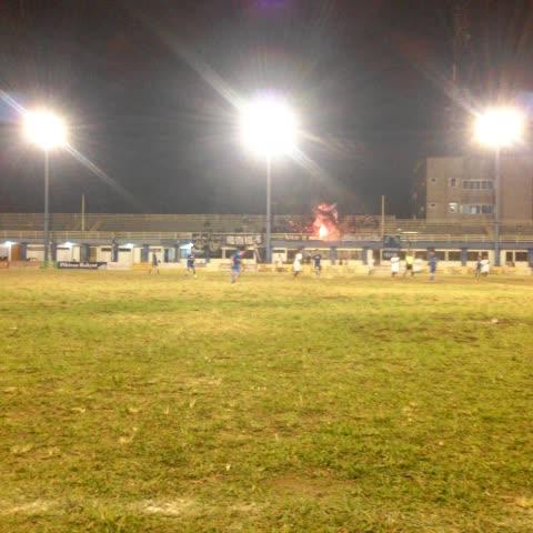Vine by Simamaung - Suasana malam ini di Sidolig. Persib U17 vs Parma Baginda.